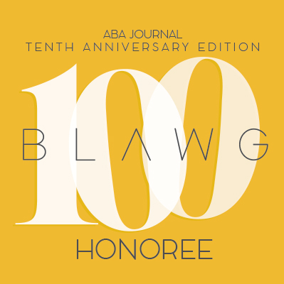 ABA Blog 100 Honoree